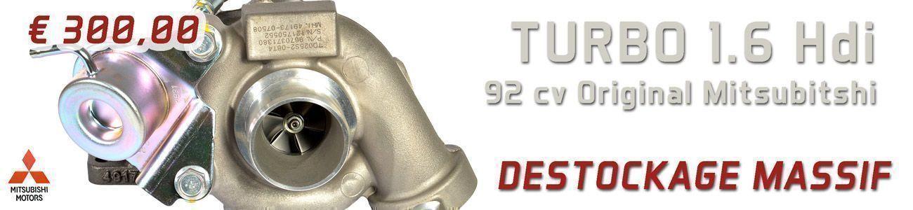 Turbo 307 Hdi 90 cv neuf original mitsubishi