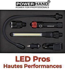 Lampe balladeuse LED d'atelier - Torche d'inspection sur iTurbo.fr. Livraison rapide