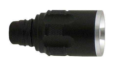 La tête de lampe LED se clipse en 1 seconde sur sa poignée