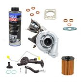 Kit turbo complet pour Peugeot 206 307 1007 Citroen Picasso C3 C4 Ford C-Max Focus 1.6 Hdi 110 cv